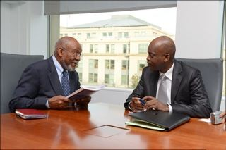 Amb Carson with FM Dussey of Togo-s 6565