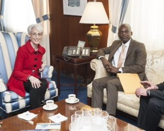 Meeting with Under Secretary Wendy Sherman