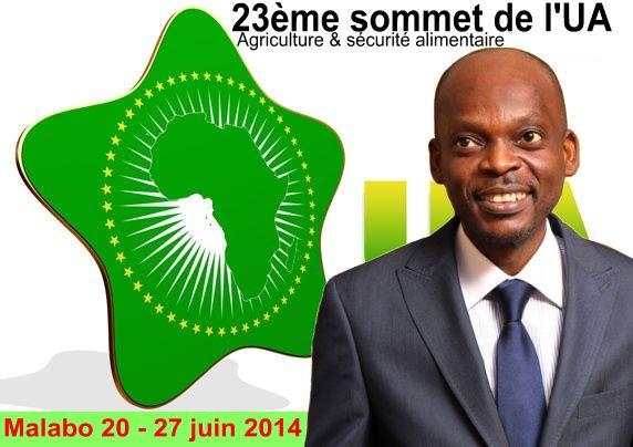 23e SOMMET DE L'UA : S.E.M. DUSSEY A MALABO POUR LES TRAVAUX PREPARATOIRES