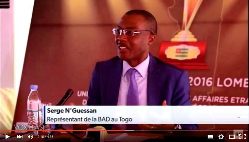 [VIDEO] M. Serge N'Guessan (BAD) : «Pour l'Afrique et surtout pour notre sous-région, la migration positive est bénéfique au dévéloppement»