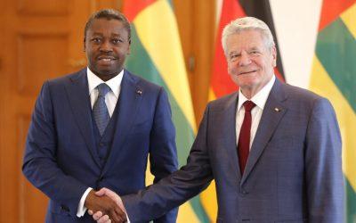 Faure Gnassingbé et Joachim Gauck