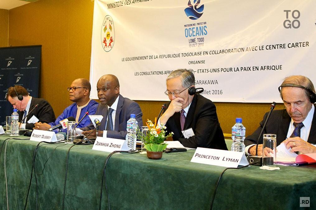 Première journée des consultations Afrique-Chine-Etats Unis pour la paix en Afrique