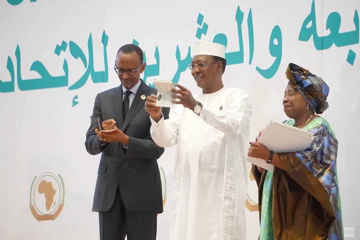 27e Sommet de l'UA : Lancement du Passeport Africain