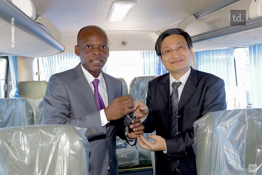 Appui logistique de la Chine au Togo à l'organisation du Sommet de Lomé
