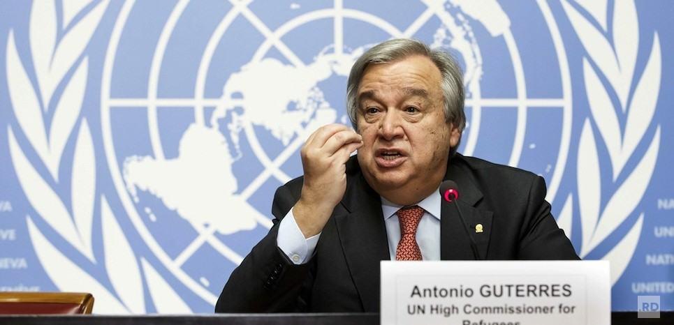 Dussey félicite Guterres, prochain secrétaire général de l'ONU