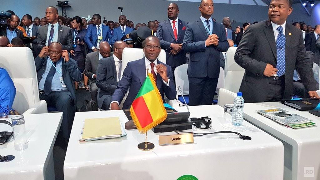 Sommet de Lomé : Les photos