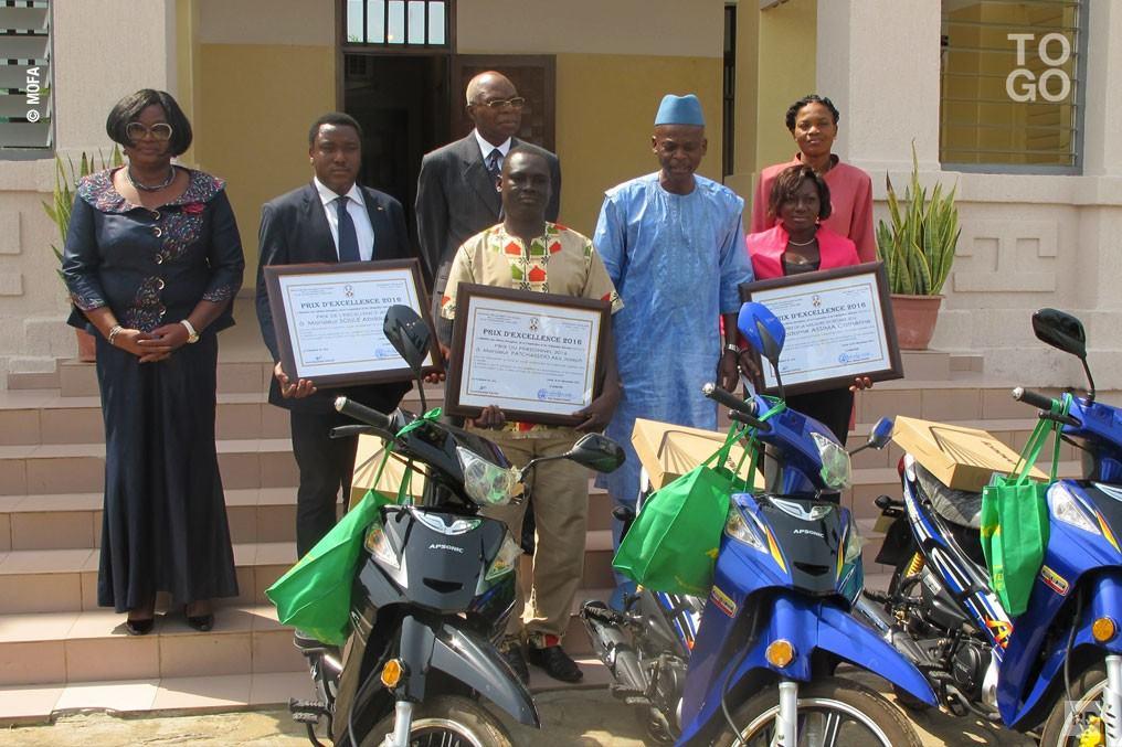 L'excellence récompensée au Ministère des Affaires Étrangères, de la Coopération et de l'Intégration Africaine