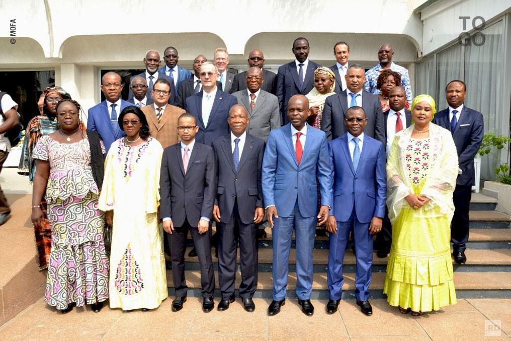 Ouverture de la réunion des ministres des Affaires étrangères du Conseil de l'entente
