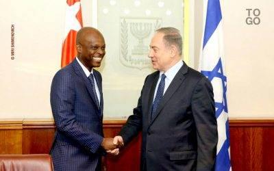 Robert Dussey & Benyamin Netanyahou