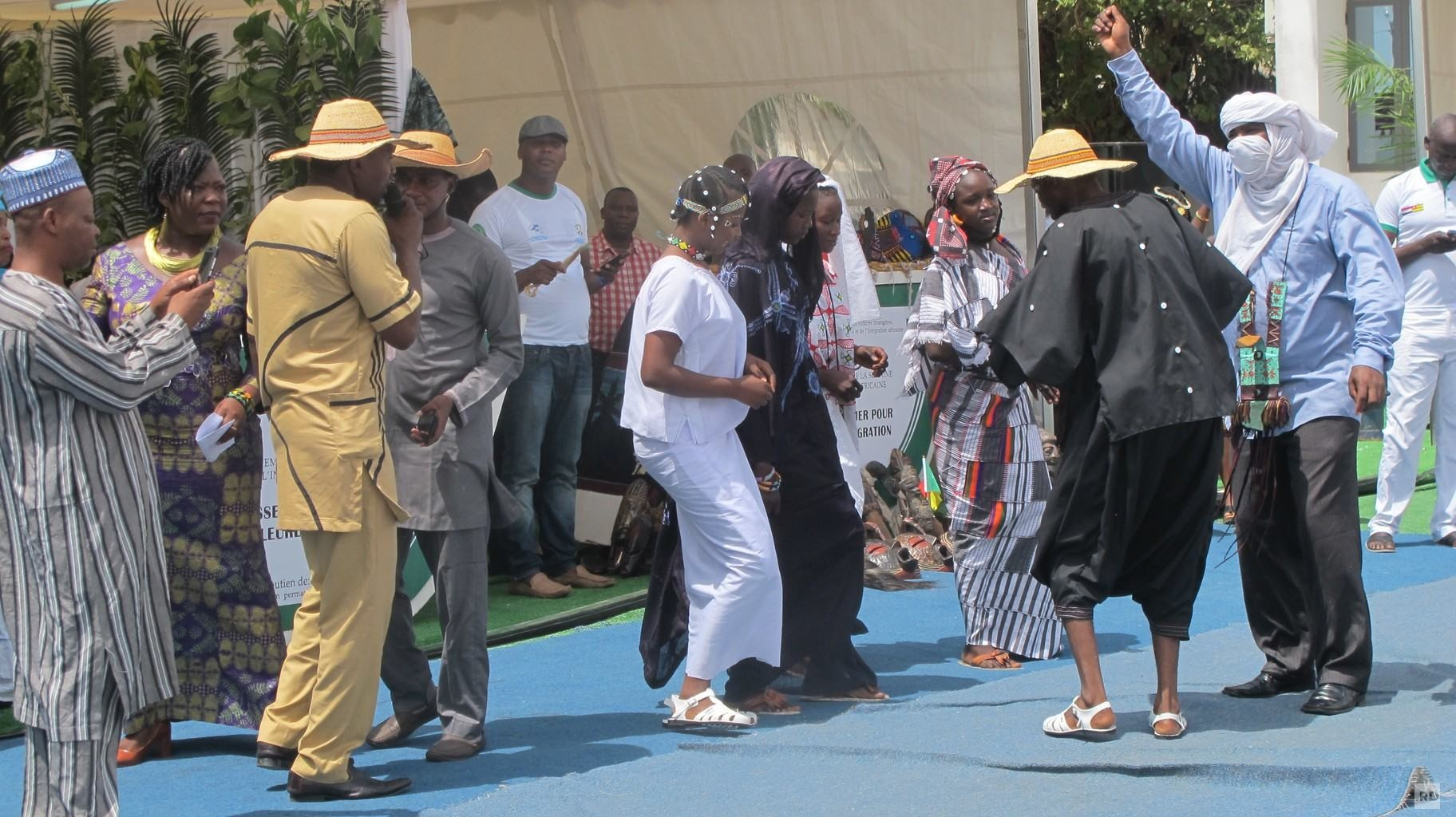 Chants, danses et expositions au Ministères des Affaires Etrangères ce 24 mai