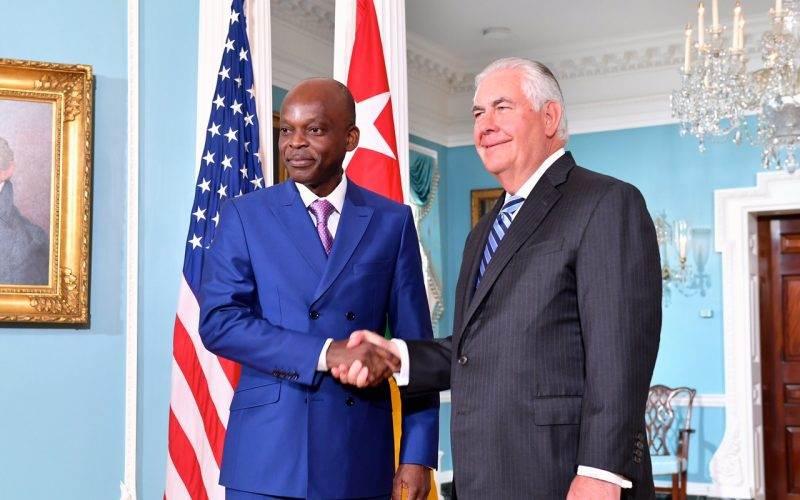 Rencontre avec le Secrétaire d'Etat américain
