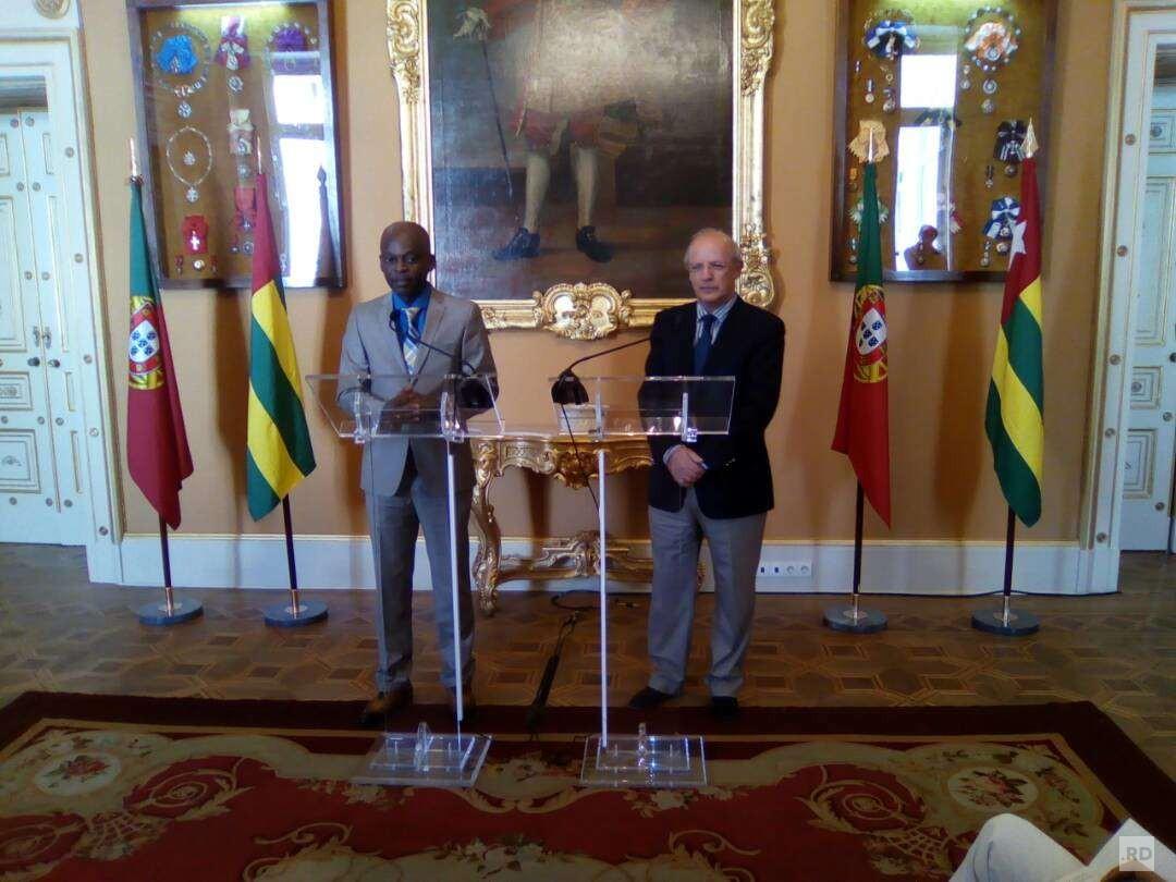 Visite de Travail de Robert Dussey au Portugal : Communiqué de Presse