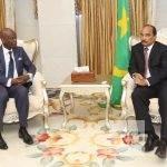 Meeting avec le Président de la Mauritanie