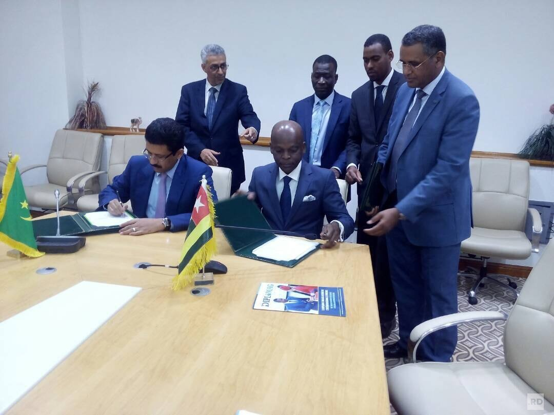 Signature of an OpenSky Agreement between Togo and Mauritania