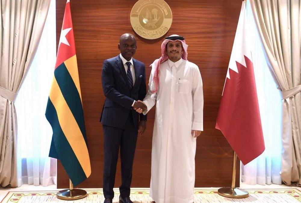 Visite officielle de Robert Dussey à Doha au Qatar