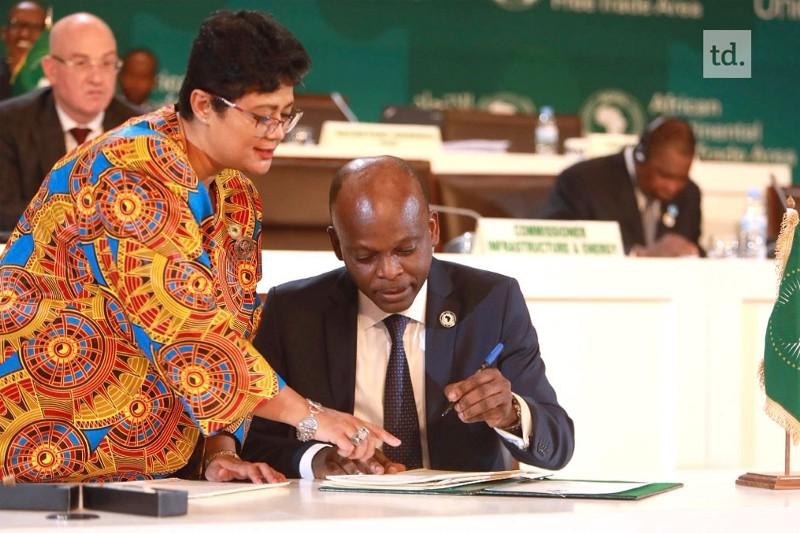 Le Togo a signé l'accord de libre échange continental