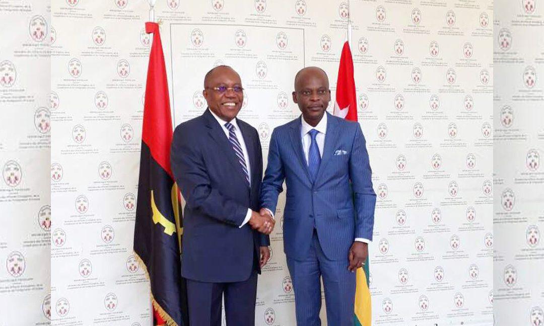 Visite de travail du Ministre des relations extérieures de l'Angola au Togo