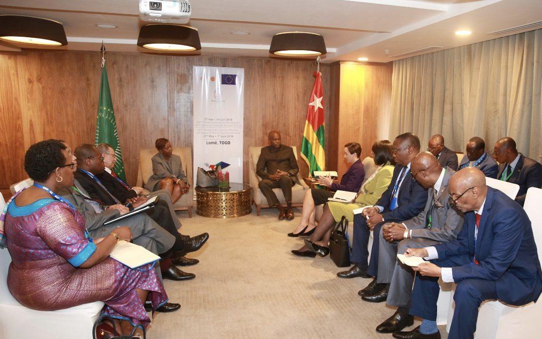 ACP – UE Lomé 2018 :  Interview du Chef de la Diplomatie Togolaise