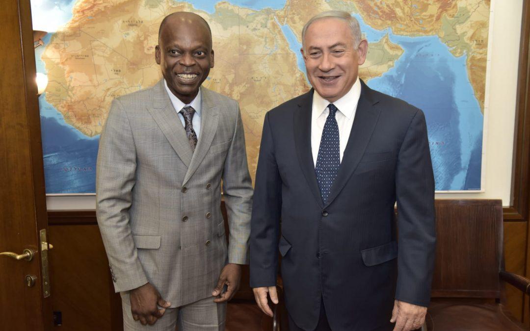 Visite officielle du Ministre Robert DUSSEY à Jérusalem